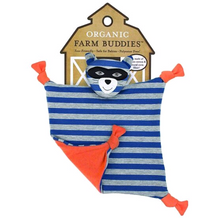 Apple Park Organic Farm Buddies Robbie Raccoon Organic Blankie