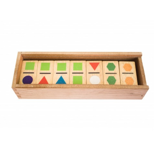 QToys Geo Domino Set