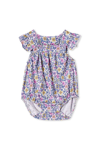 Vintage Floral Playsuit by Milky