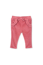 Pink Rose Cord Jean by Milky