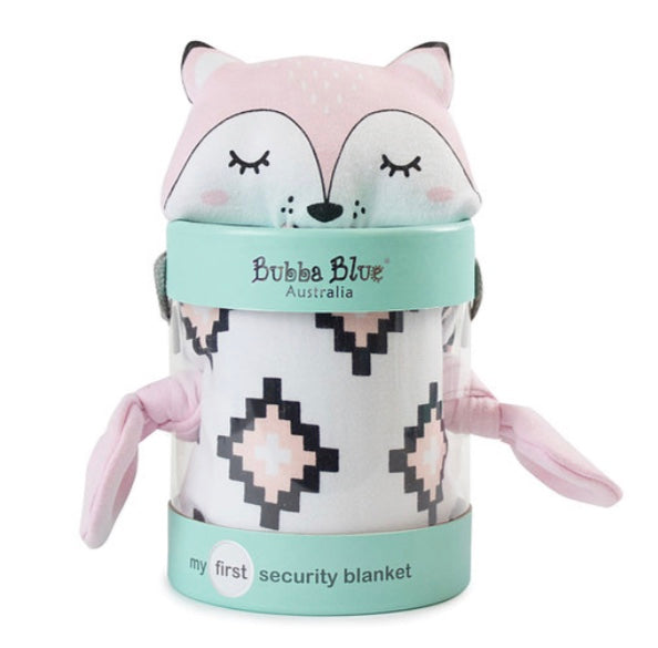 Bubba Blue My First Security Blanket - Miss Fox