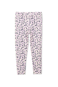 Lilac/Pale Grey Animal Leggings by Milky