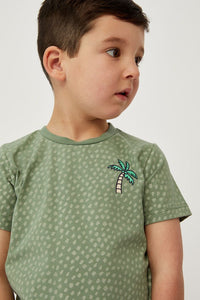 Basil Palm Tee by Milky
