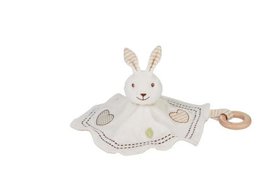 EverEarth Rabbit Blankie with teether