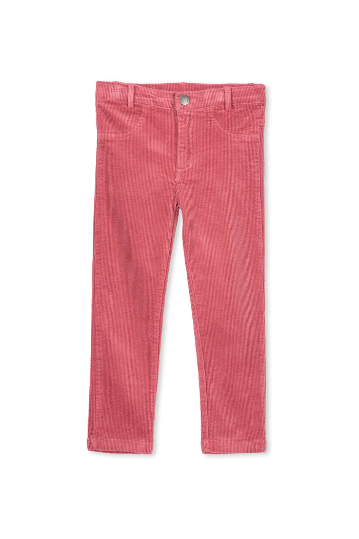 Pink Cord Jean by Milky