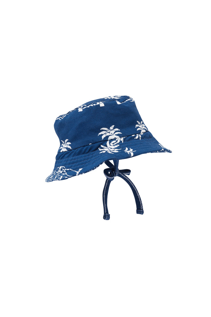 Imperial Blue Baby Bucket Hat by Milky
