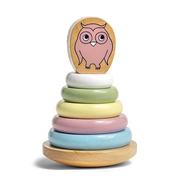 Micki Owl Ring Stacking toy