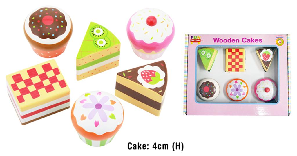 Fun Factory Wooden Cakes