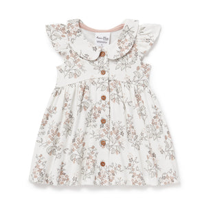 Aster & Oak Summer Floral Button Dress