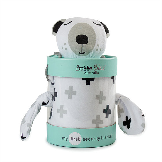 Bubba Blue My First Security Blanket - Polar Bear