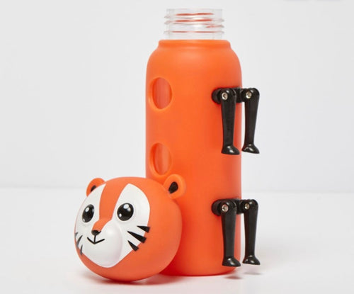 Fearsome Animal Friends Tiger Bottle