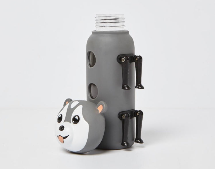 Fearsome Animal Friends Husky Bottle