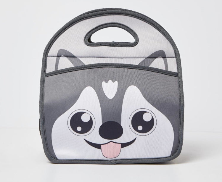 Fearsome Animal Friends Husky Lunch Bag