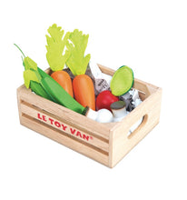 Le Toy Van My Market Crate Vegetables