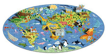 Sassi Travel, Learn and Explore Puzzle and Book set - Animals 200 pcs