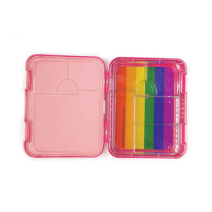Jordbarn Bento Lunch Box - Pig Magenta