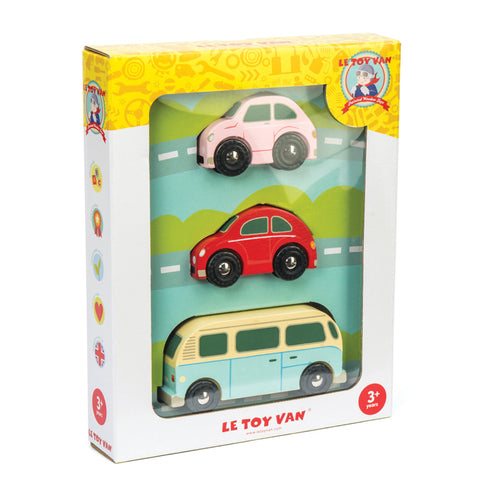 LeToy Van Retro Metro Car Set