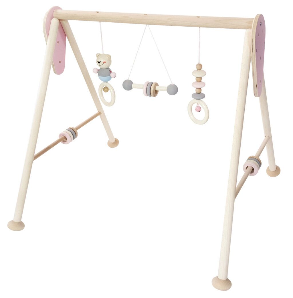 Hess-Spielzeug Baby Play Equipment Natural Pink