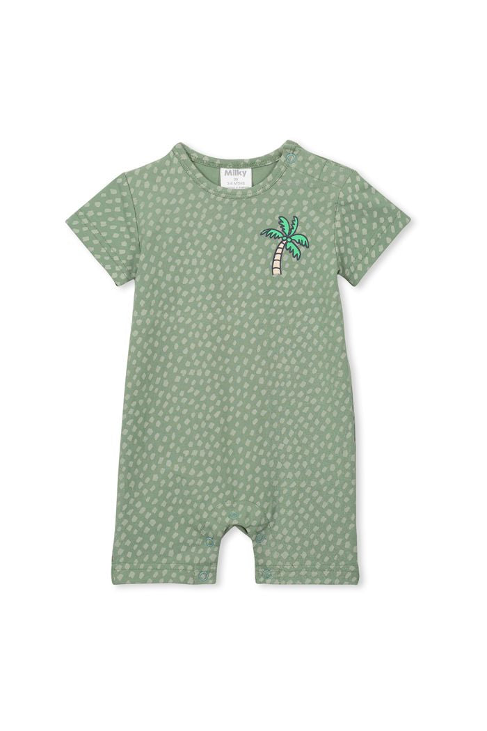 Basil Palm Romper by Milky
