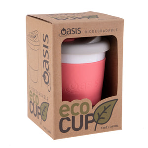 Oasis Biodegrabable Eco-Cup 340ml / 12oz - Coral
