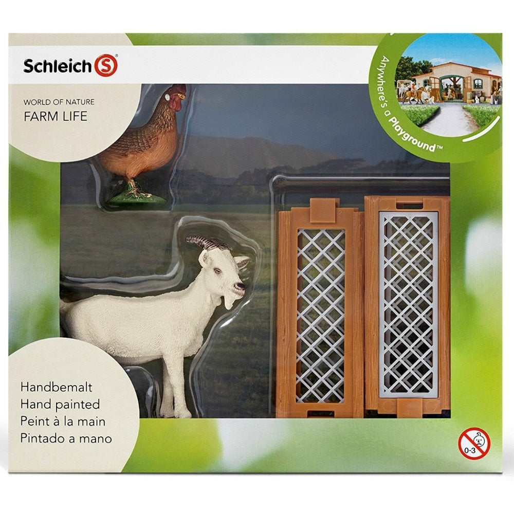 Schleich Mini Playset - Small Farm Animal