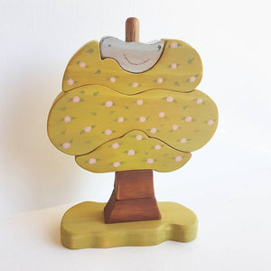 Miss Molly's Dolls and Toys Apple Blossom Stacking Tree
