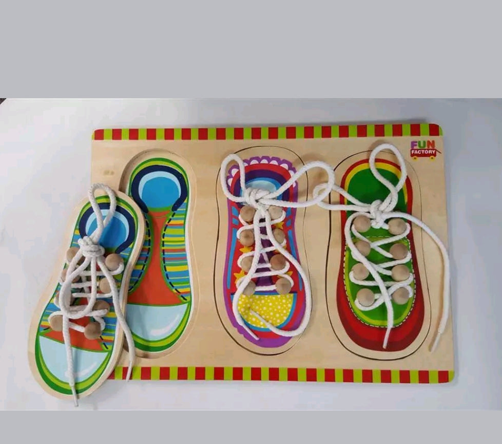Fun Factory Shoe Lacing Puzzle