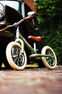 Trybike Green Vintage 2-in-1