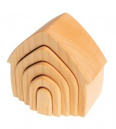 Grimm's Spiel and Holz Stacking House, natural