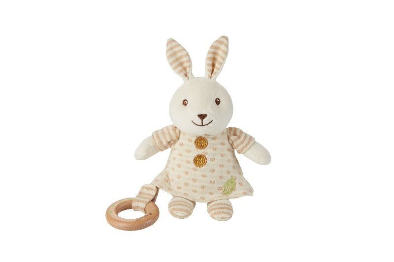 EverEarth Cuddle Rabbit with teether