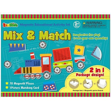InaKids Magnetic Activity Set - Mix & Match