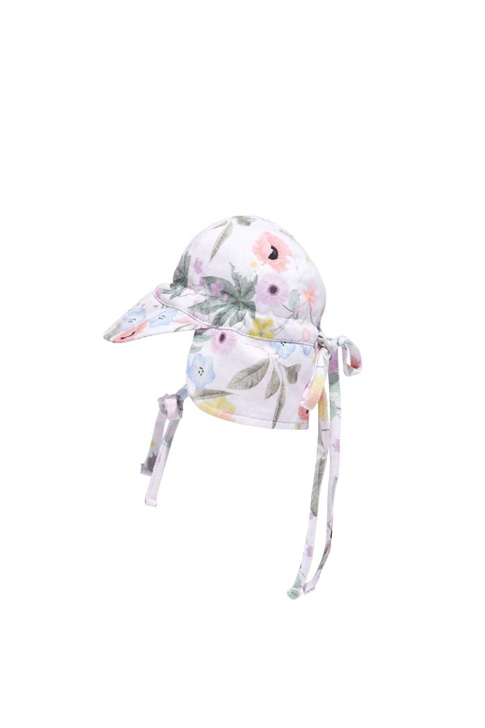 Spring Floral Baby Hat by Milky