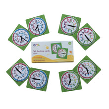 EasyRead Time Teacher 'Tell the time cards' Level 1 (Card Game)