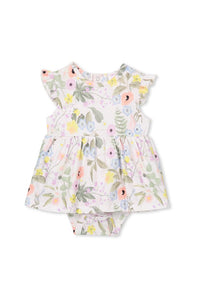 Spring Floral Baby Dress by Milky