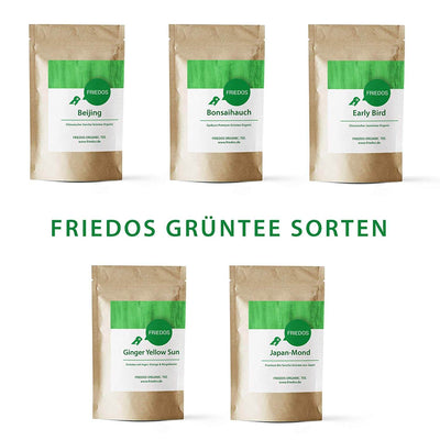 Friedos Grüner Tee - Ginger Yellow Sun