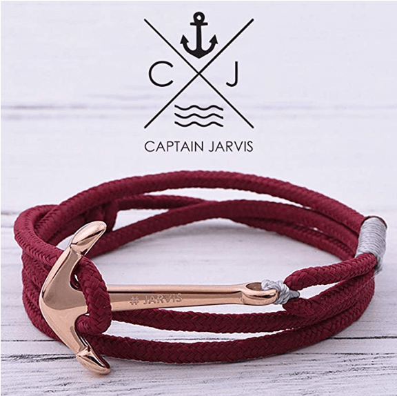 Captain Jarvis - Anker Armband Volcanico