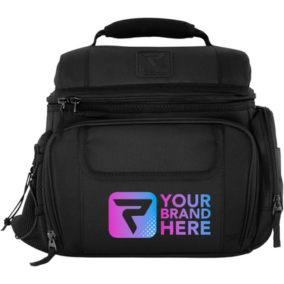 6 Meal Cooler Bag, Black, Your Brand Here, Performa Custom