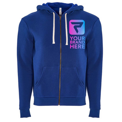 Performa Apparel, Fleece Zippered Hoodie, Unisex, Your Brand Here, Performa Custom