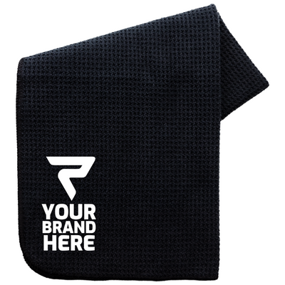 Performance Towel, Black, Performa custom