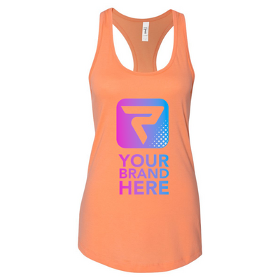 Performa Apparel, Women's RazorBack Tank Top, Your Brand Here , Performa Custom