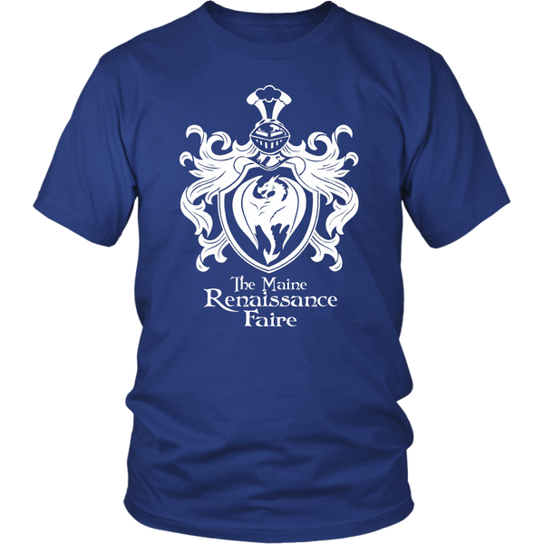The Official Maine Renaissance Faire Tee Shirt in Blue