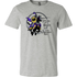 Adult Heather Gray Maine Renaissance Faire Broken Lance Tee Shirt