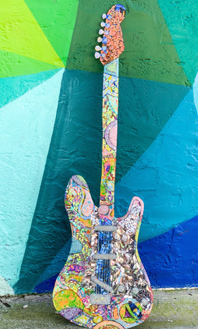 Guitar Wall Piece by Sunshiners®