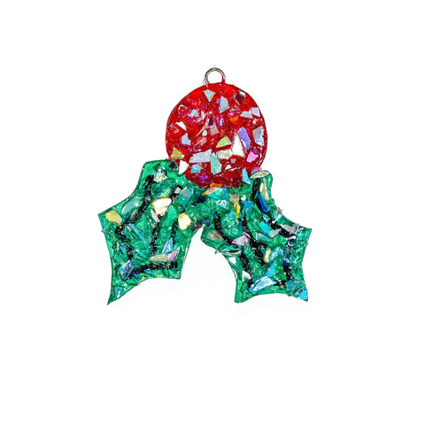 Holly Ornament - Premium Collection