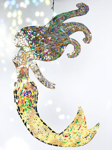 "Mermaid ""Gold Lady"" Wall Piece by Sunshiners®"