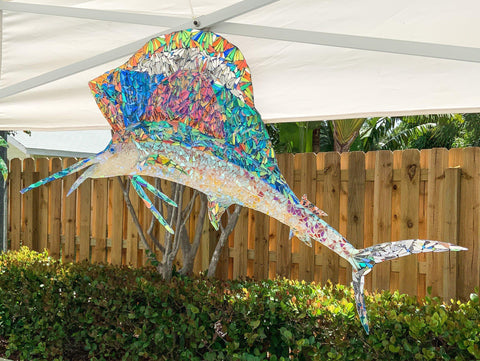 Sailfish Wall Piece by Sunshiners®