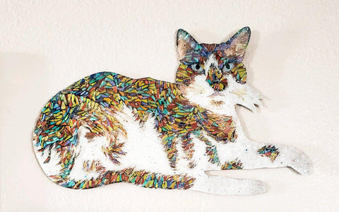 Snowshoe Kitty Wall Piece