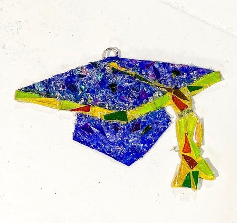 Graduation Cap Ornament - Premium Collection