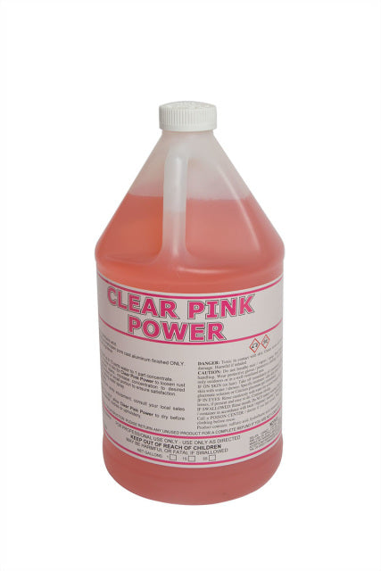 Clear Pink Power