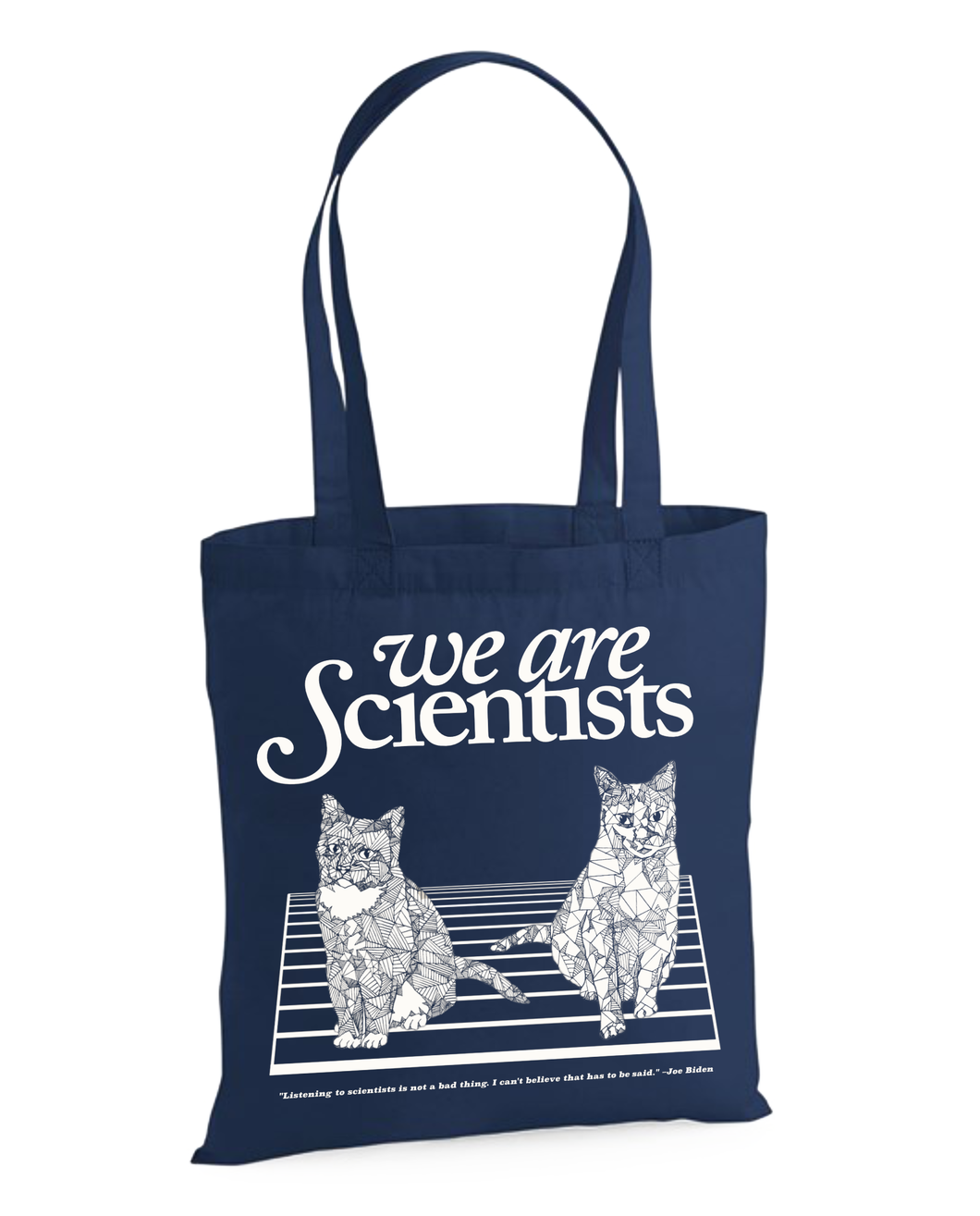 Fault Lines - Tote Bag | We are Scientists Official Store